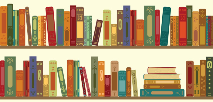 books retro horizontal